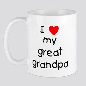I love my great grandpa Mug